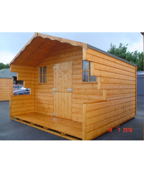 8ft x 6ft lodge garden shed garden sheds for sale for Garden shed january sale