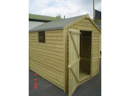 6ft x 10ft Budget Shed