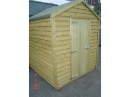 6ft x 12ft Budget Shed