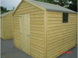 8ft x 10ft Budget Shed
