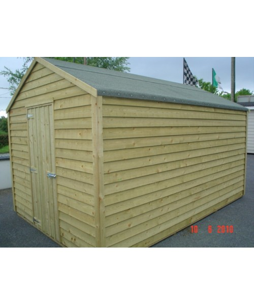 8ft x 16ft budget shed garden sheds for sale for Garden shed january sale