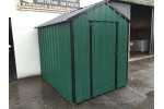 16ft x 6ft Green Steel Garden Shed