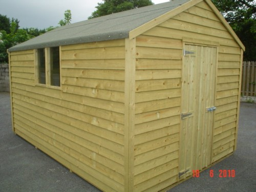 8ft x 18ft Budget Shed