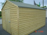 10ft x 16ft Budget Shed