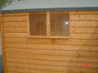 6ft x 12ft Superior Shed