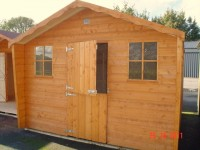 18ft x 10ft Cabin Shed