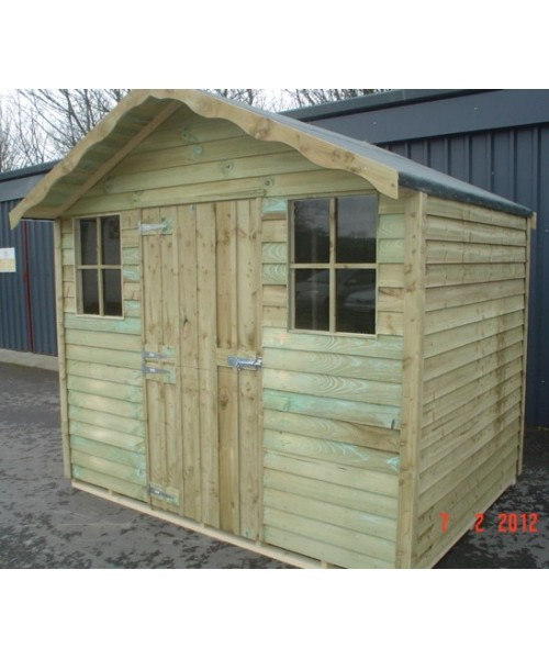 8ft x 6ft kendal shed budget garden sheds for sale for Garden shed for sale
