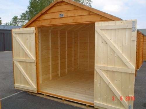 8ft x 8ft Superior Shed