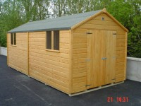 8ft x 18ft Superior Shed