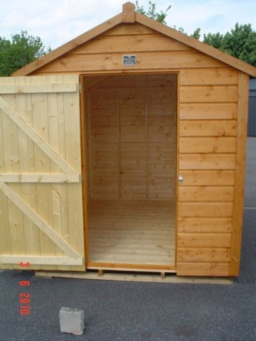 6ft x 10ft Superior Shed
